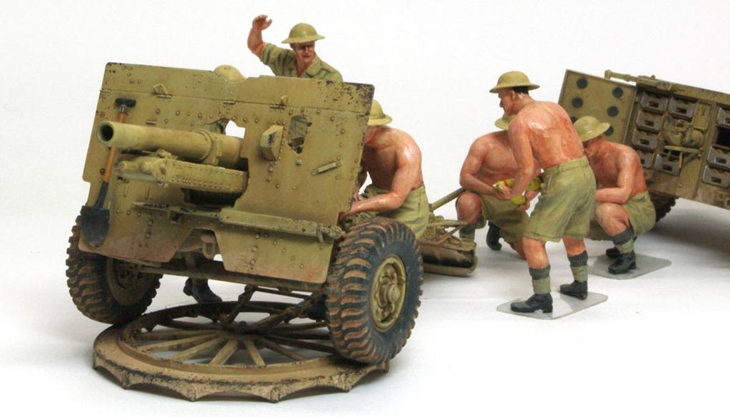イギリス・25ポンド野砲 Mk.2